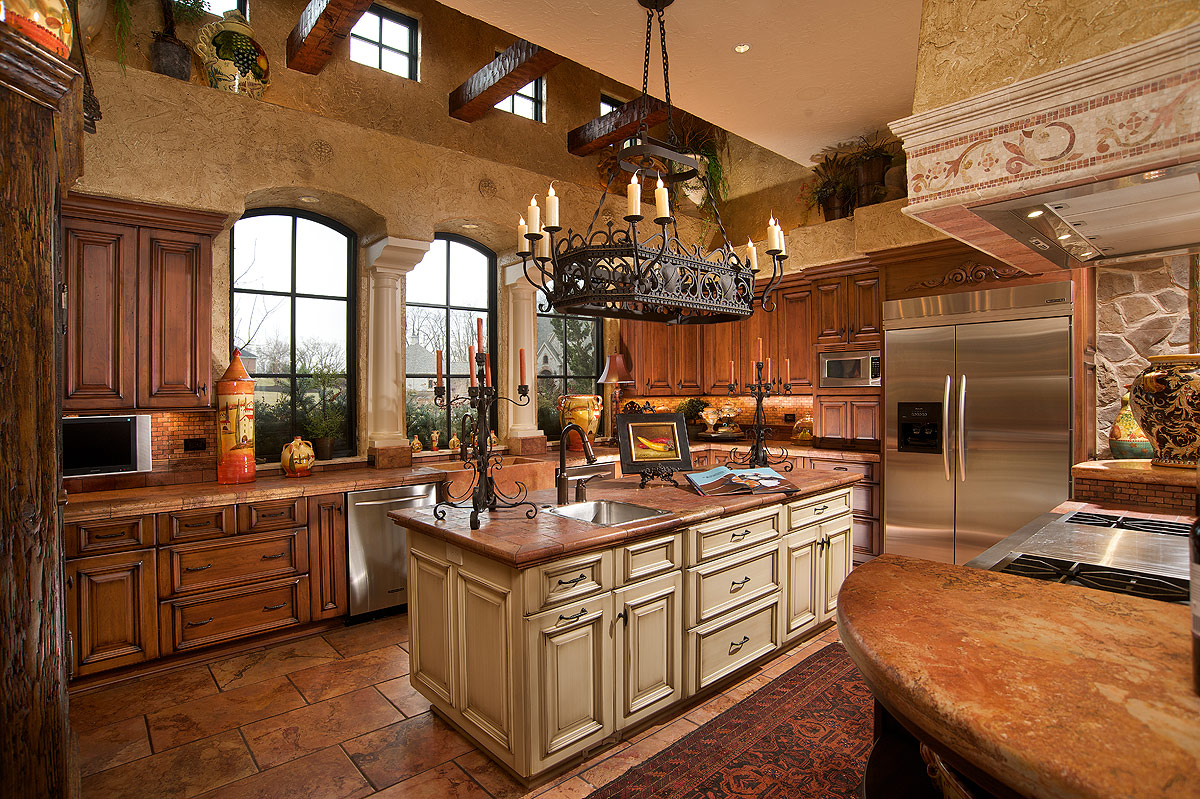 Mediterranean Style Extraordinary Of Mediterranean Kitchen Design Images