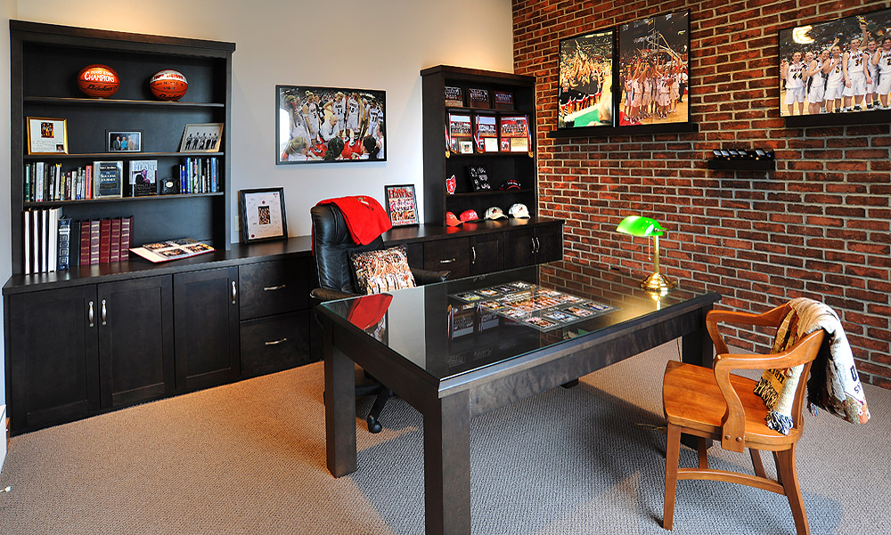 Mullet Cabinet Home Office For The Sports Fan