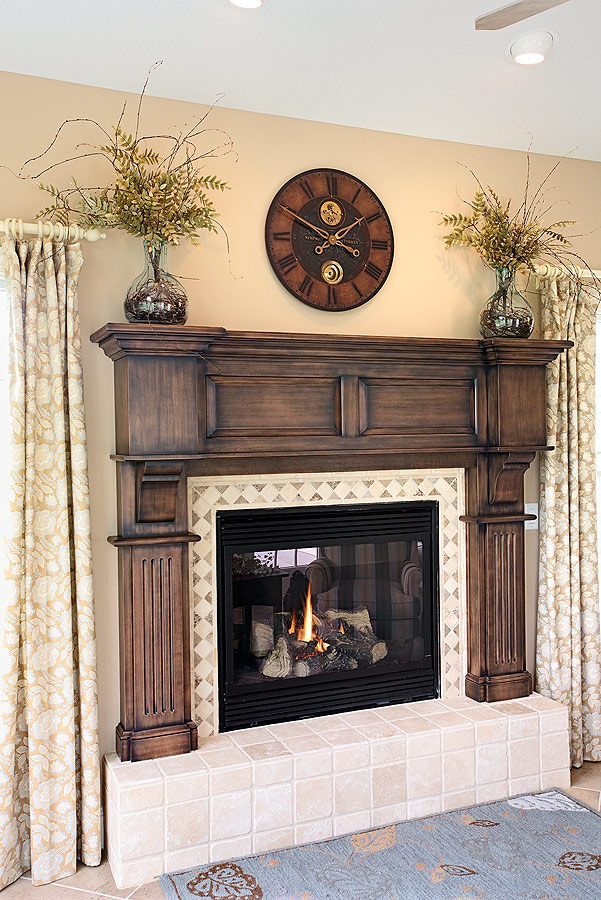Levant Raised Panel Mantel