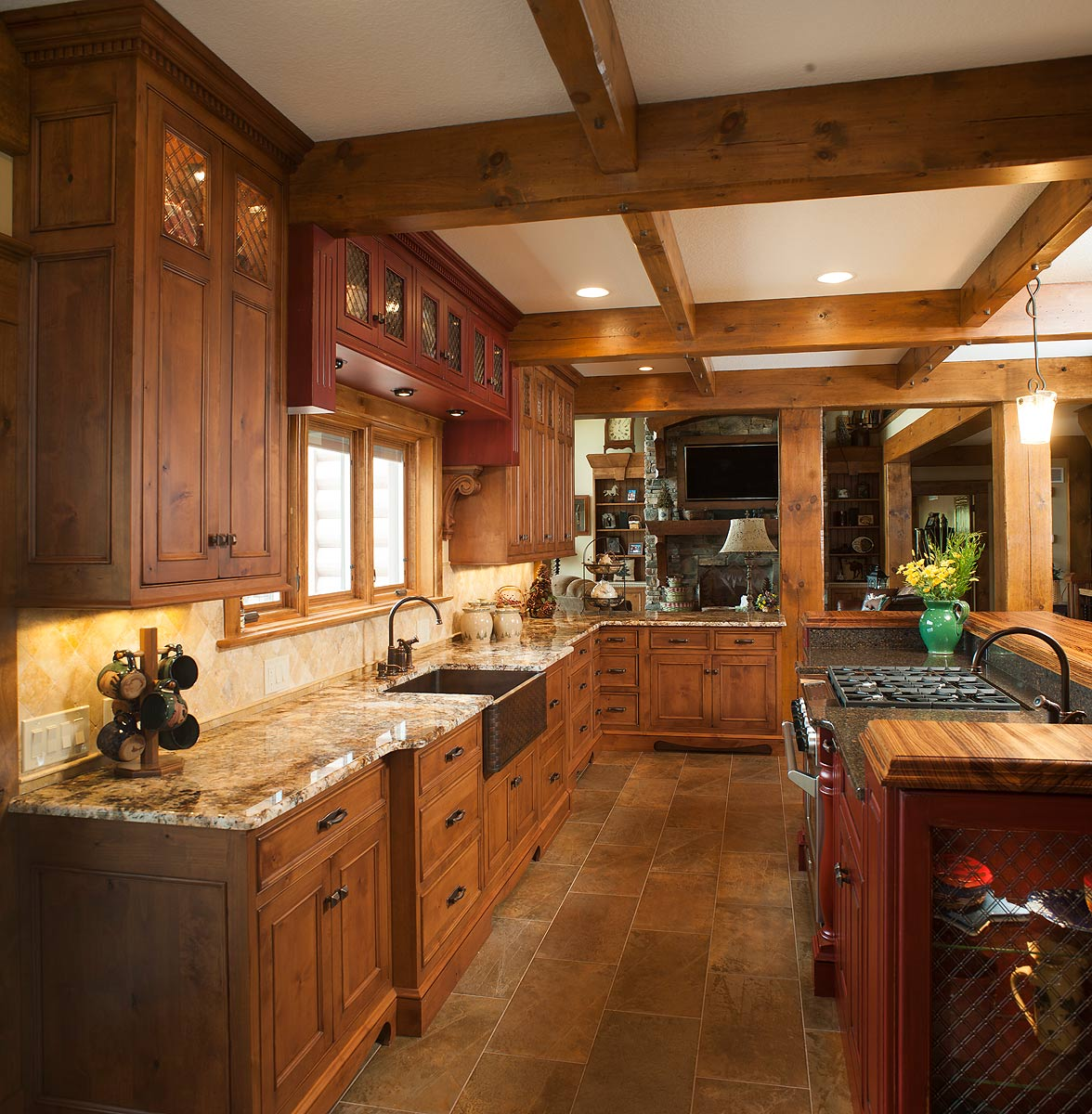 Mullet Cabinet Rustic Kitchen Retreat
