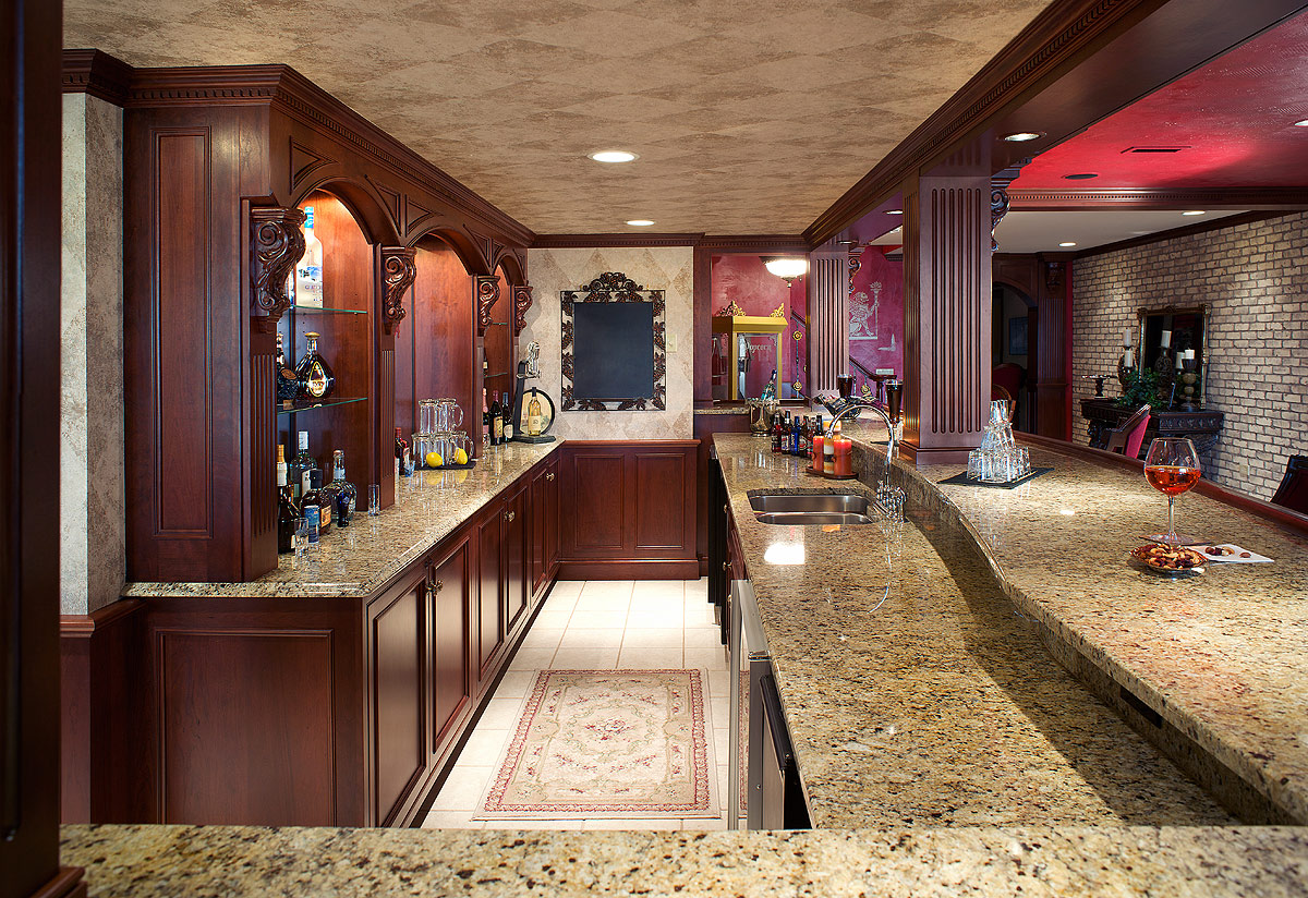 Image Result For Kitchen With Bar