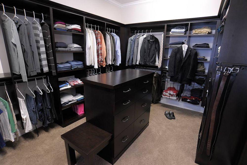Mullet Cabinet Walk In Master Closet