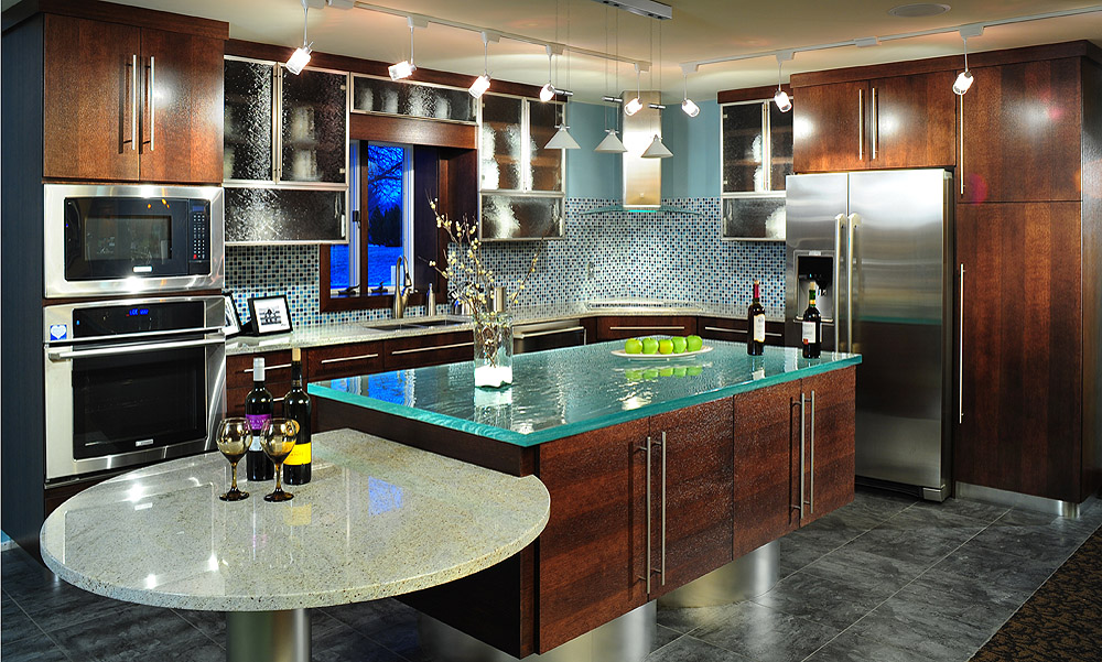 Mullet cabinet contemporary european kitchen for European contemporary kitchens