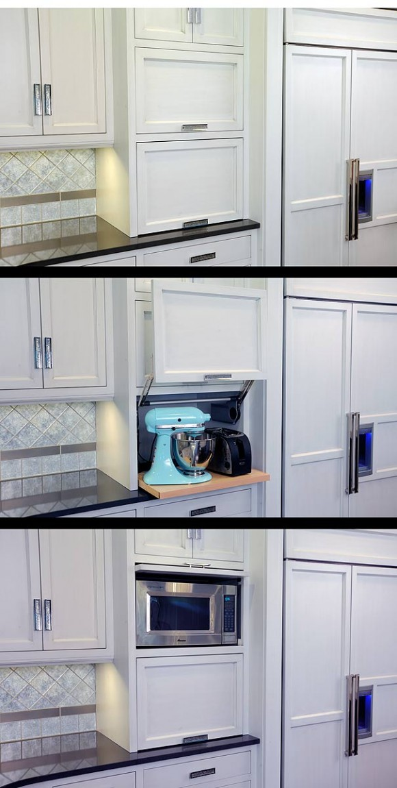 Mullet Cabinet Unique Kitchen With Plum Island