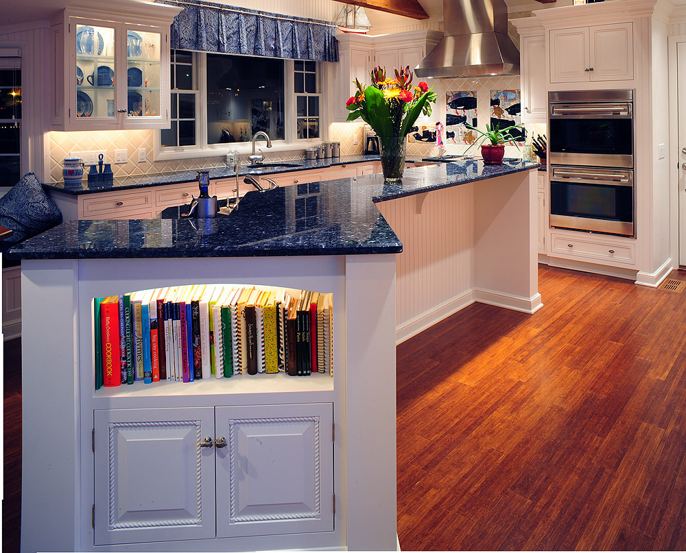 Levant White Nautical Kitchen