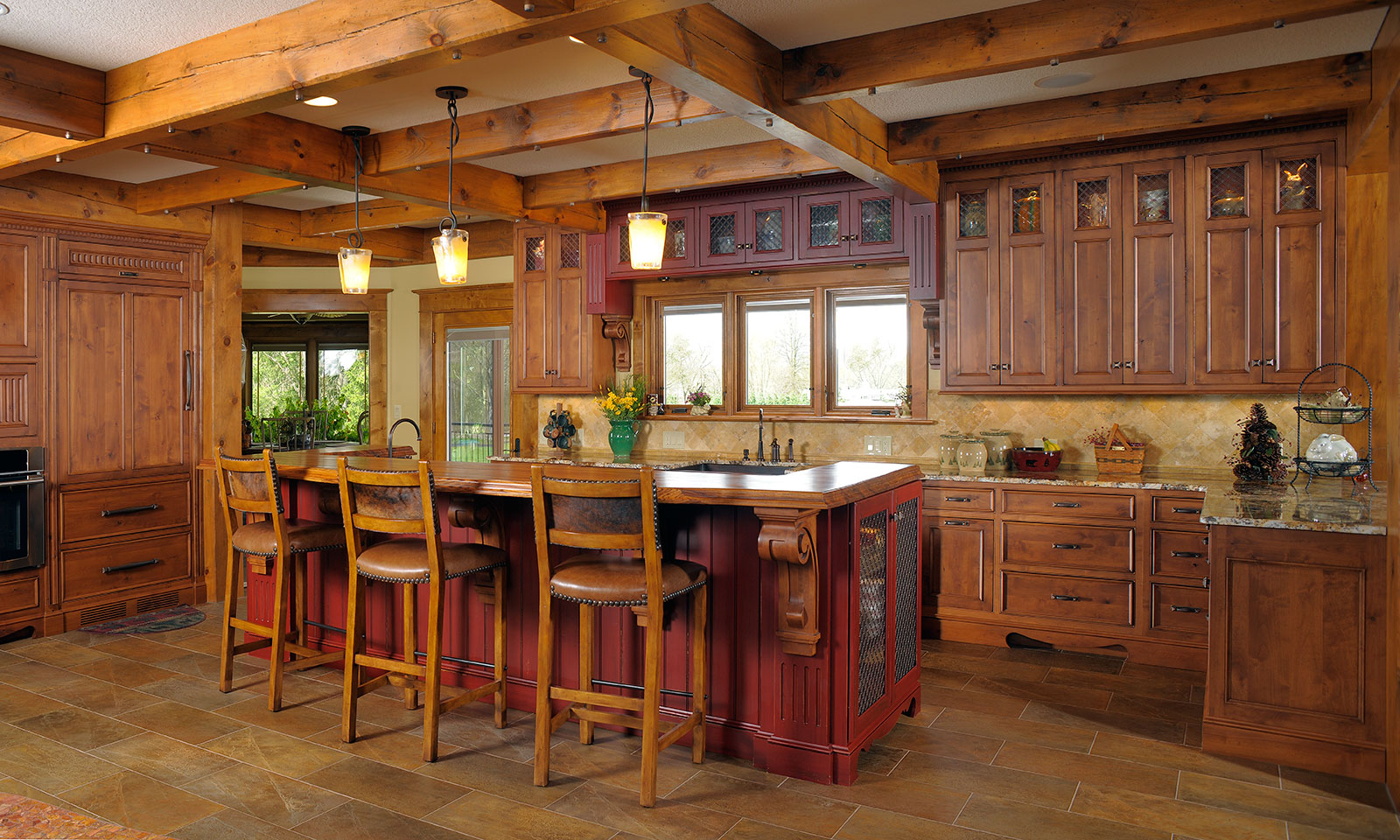 Italian Rustic Kitchen Design
