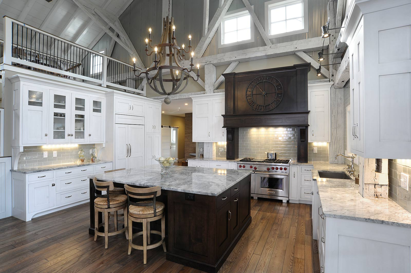 Barn Home Kitchens