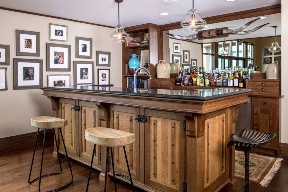 Countryside Transitional Bar with a Southwestern Flair-Feature
