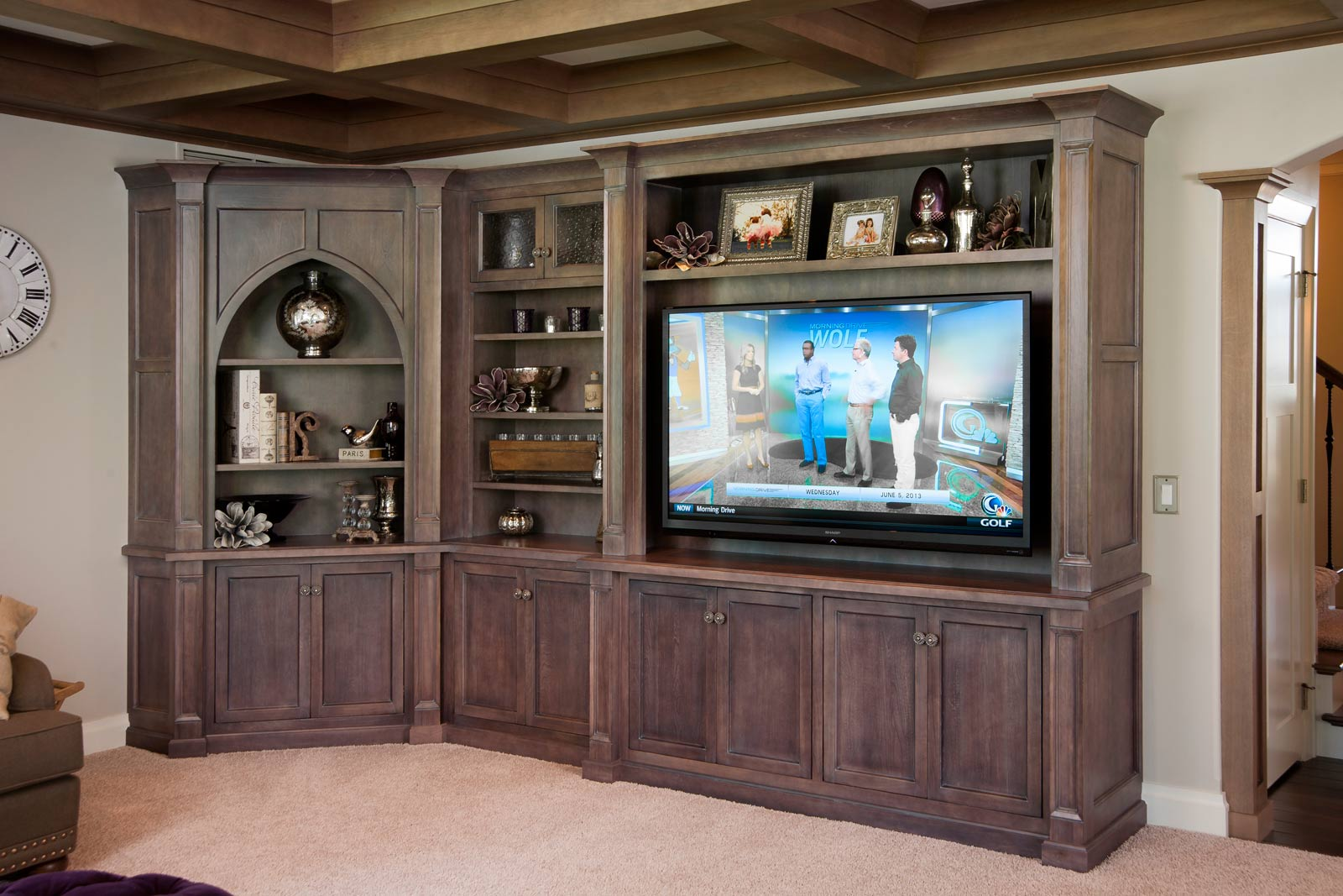 Mullet Cabinet — Living Room Entertainment Area