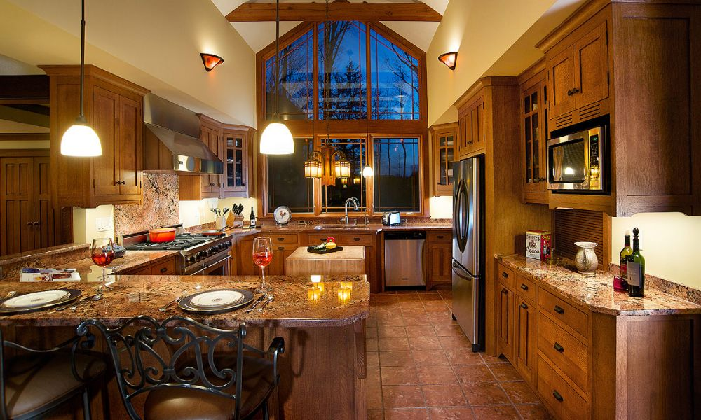 Mullet cabinet craftsman style kitchen for Kitchen ideas tumblr