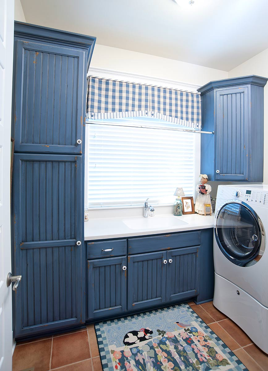 Gallery Country Living Laundry Room Levant Country Blue